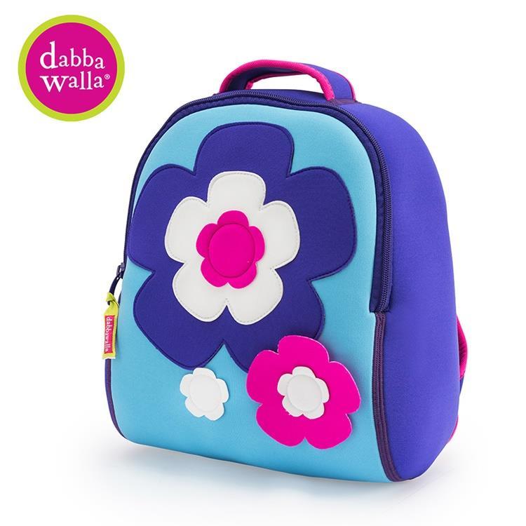 【Dabbawalla】美國瓦拉包 3-8歲 小童後背包- 朵朵花開