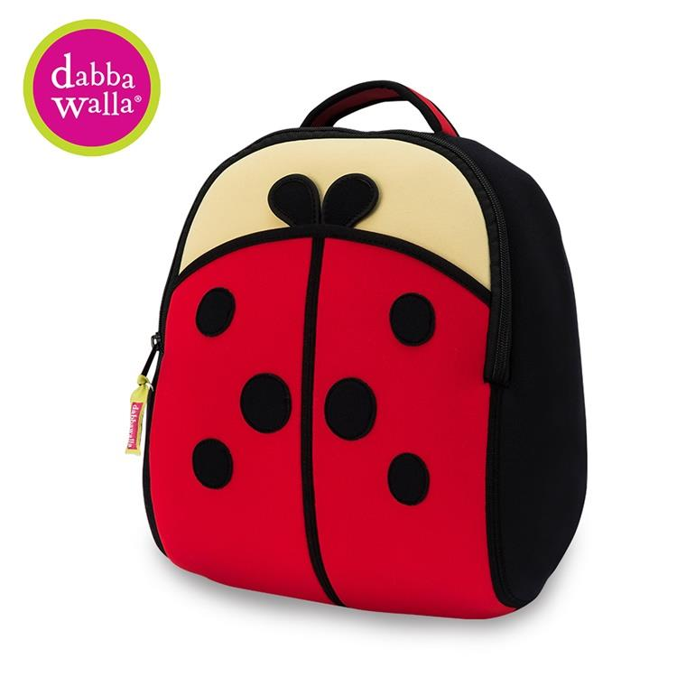 【Dabbawalla】美國瓦拉包 3-8歲 小童後背包- 小瓢蟲