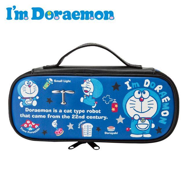 哆啦A夢 皮革 掀蓋式筆袋 鉛筆盒 筆袋 手提筆袋 小叮噹 DORAEMON 三麗鷗