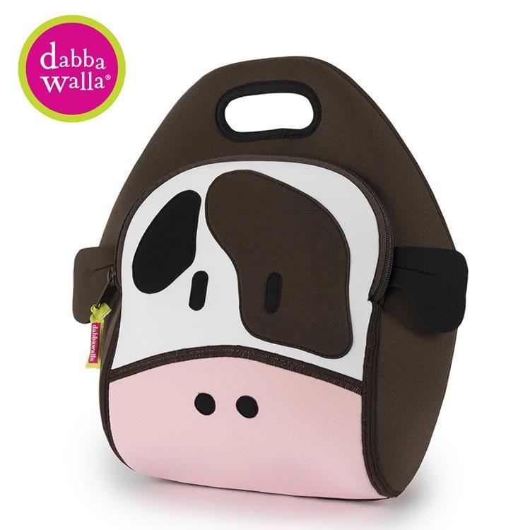 【Dabbawalla】美國瓦拉包 乳牛手提包