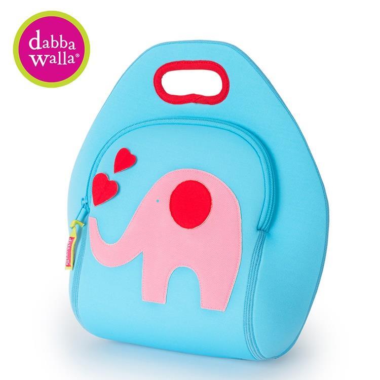 【Dabbawalla】美國瓦拉包 粉紅象手提包