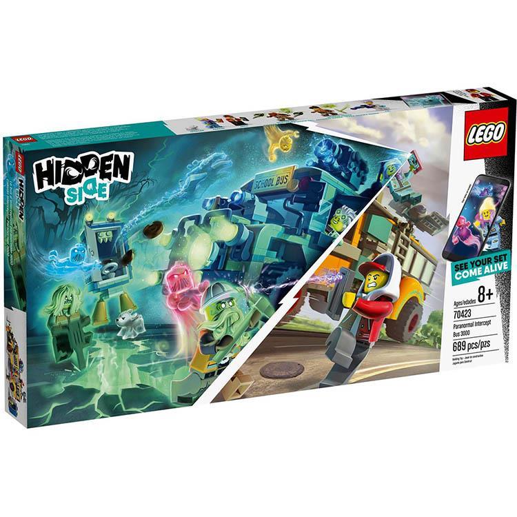樂高積木 LEGO《 LT70423 》Hidden Side 系列 - 超自然攔截巴士 3000