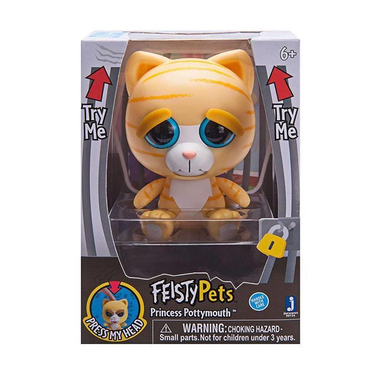 《 Feisty Pets 》變臉娃娃4吋公仔 貓 Princess Potty