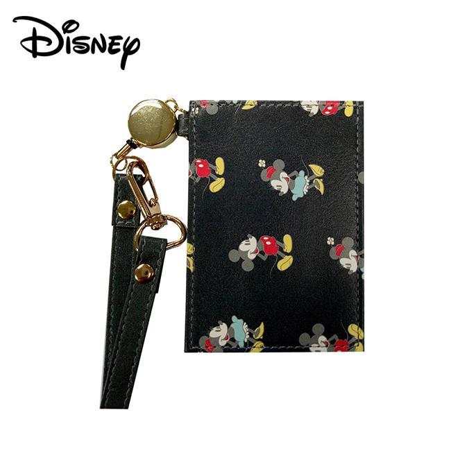 米奇 米妮 彈力票卡夾 票夾 證件套 悠遊卡夾 Mickey Minnie 迪士尼 Disney