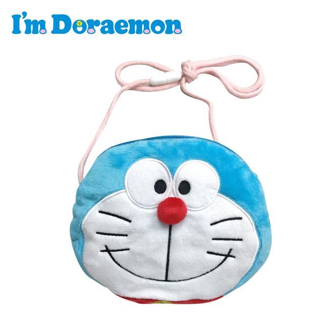 哆啦A夢 掛繩 零錢包 收納包 小物收納 小叮噹 DORAEMON 三麗鷗 Sanrio