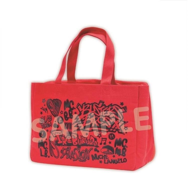 催眠麥克風日版小痛包提袋-紅
