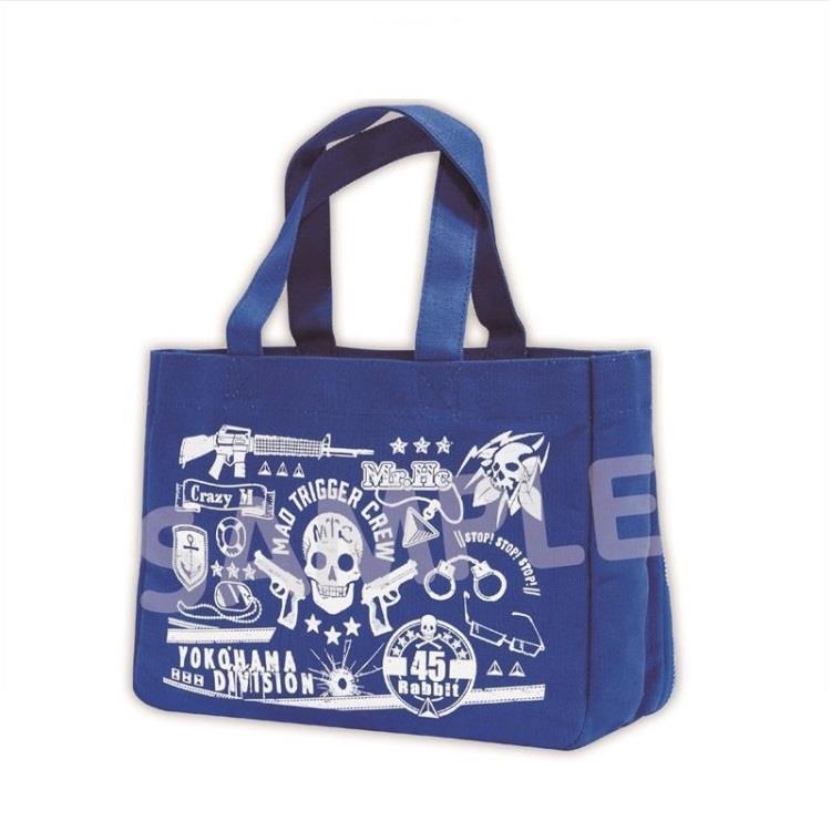 催眠麥克風日版小痛包提袋-藍