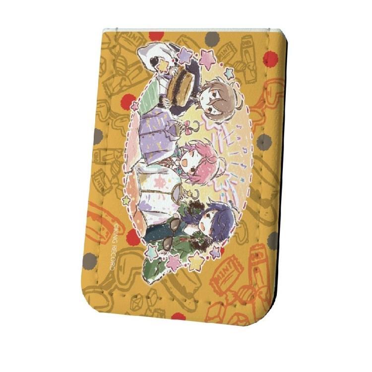 催眠麥克風日版皮革MEMO-黃