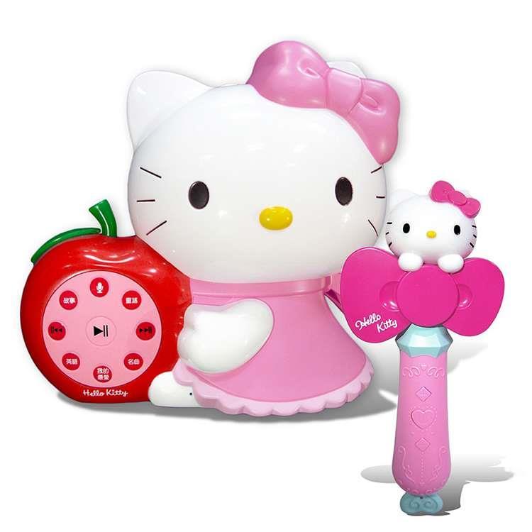 凱蒂貓故事機(粉紅)+凱蒂貓音樂故事棒