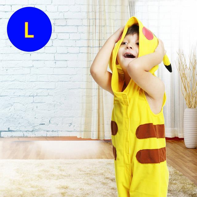 樂活e棧-萬聖節童裝系列-堡可夢皮卡丘童裝(L)