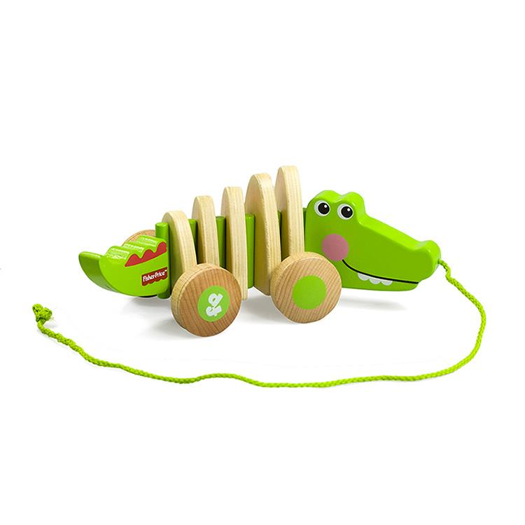費雪鱷魚拖拉車