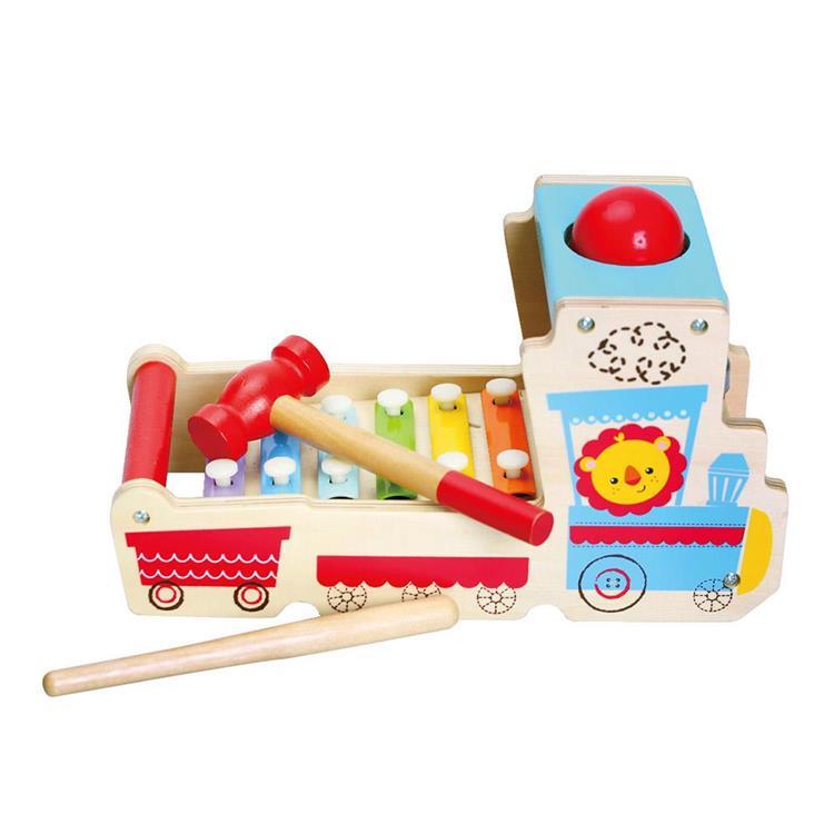 費雪獅子小火車敲琴台