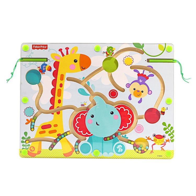 費雪運筆迷宮-動物樂園