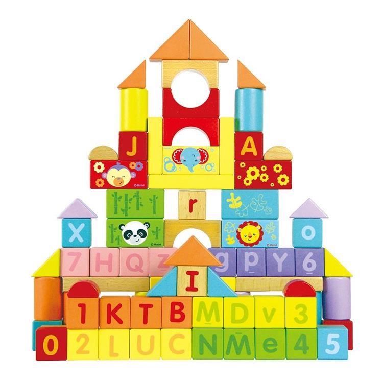 費雪字母算數學習積木
