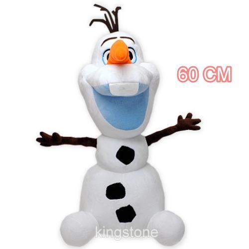 Disney冰奇緣雪【頑皮雪寶】絨毛玩偶-巨大版