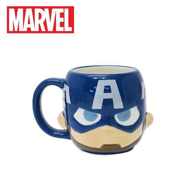 美國隊長 大頭造型 馬克杯 270ml 咖啡杯 復仇者聯盟 漫威英雄 MARVEL