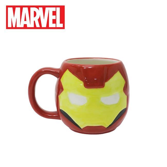 鋼鐵人 大頭造型 馬克杯 270ml 咖啡杯 復仇者聯盟 漫威英雄 MARVEL