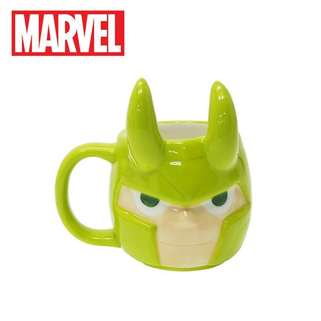 洛基 大頭造型 馬克杯 270ml 咖啡杯 雷神索爾 復仇者聯盟 漫威英雄 MARVEL