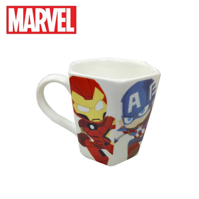漫威英雄 六角形 馬克杯 230ml 咖啡杯 復仇者聯盟 MARVEL