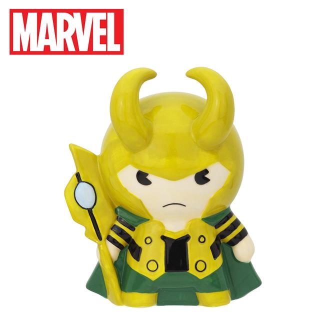 洛基 造型存錢筒 儲金箱 小費箱 雷神索爾 復仇者聯盟 漫威英雄 MARVEL