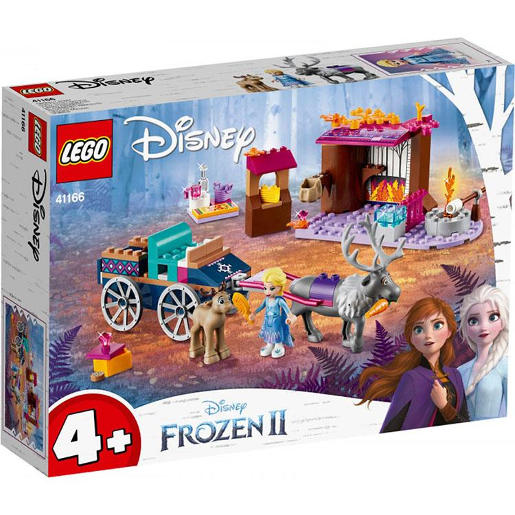 樂高積木 LEGO《LT41166》迪士尼公主系列-Elsa's Wagon Adventure