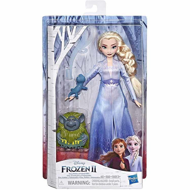 《 Disney 迪士尼》冰雪奇緣2公主與陪伴配件組-艾莎