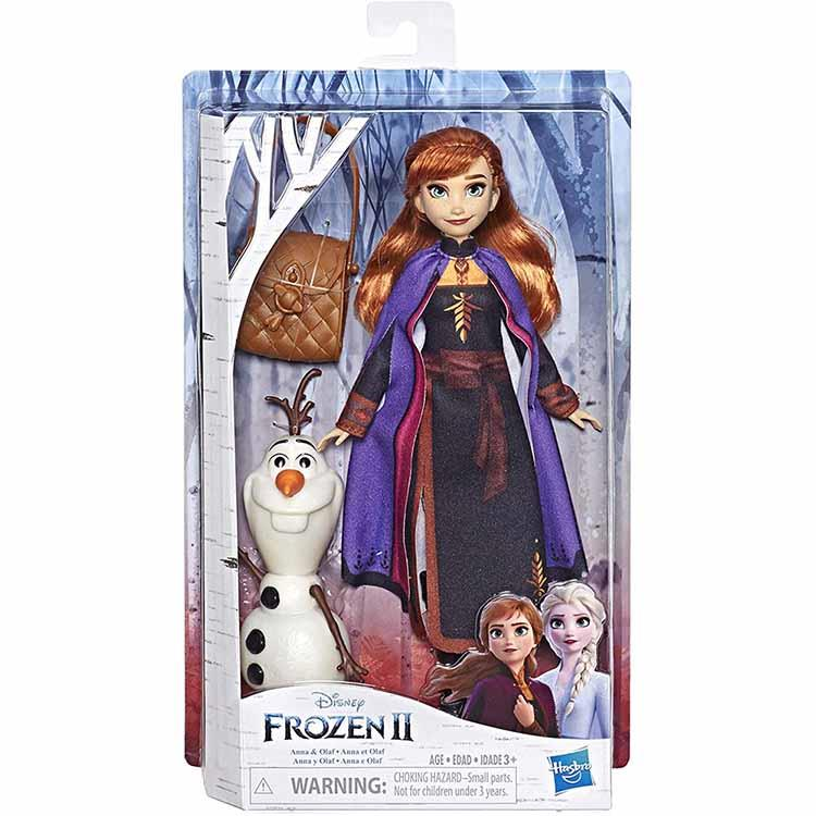 《 Disney 迪士尼》冰雪奇緣2公主與陪伴配件組-安娜