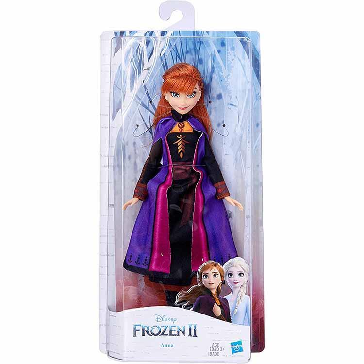 《 Disney 迪士尼》冰雪奇緣2基本人物組-安娜