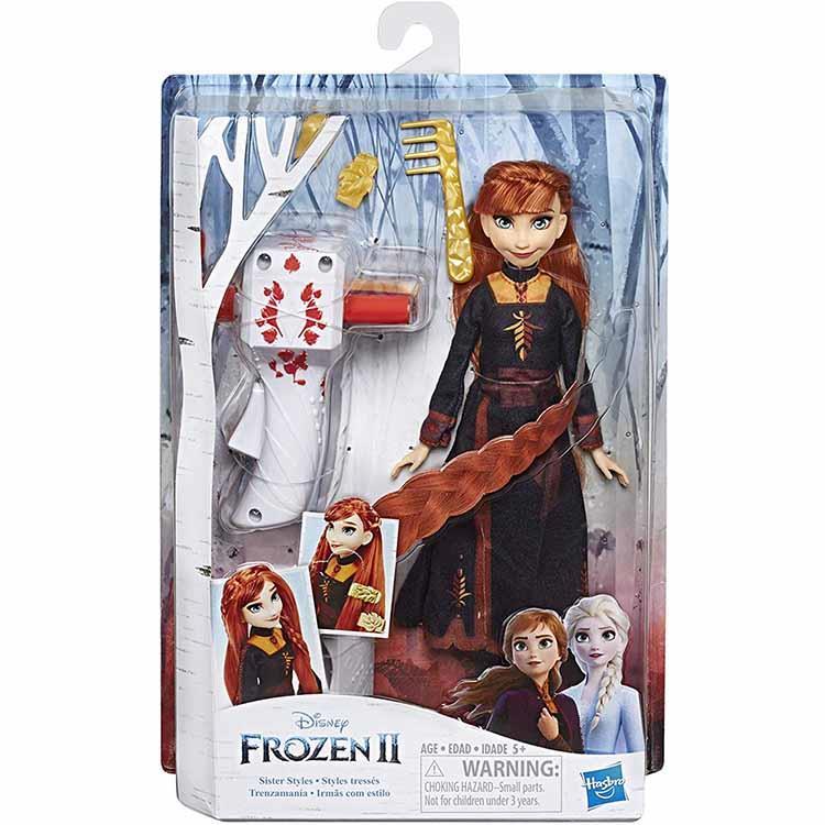 《 Disney 迪士尼》冰雪奇緣2公主裝扮頭髮遊戲組-安娜