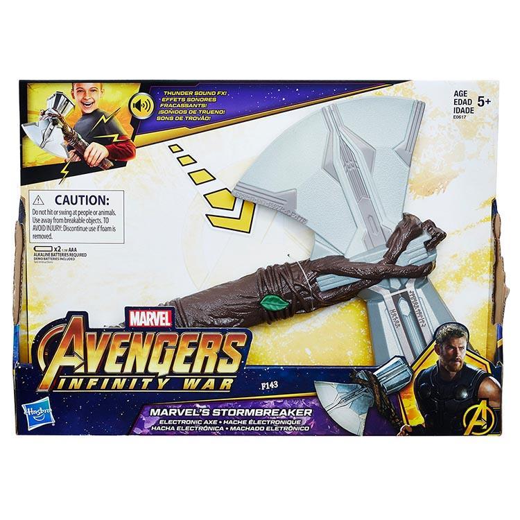 《 MARVEL 漫威超級英雄 》復仇者聯盟電影 索爾新斧鎚道具