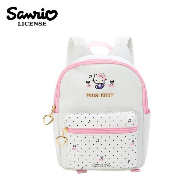 凱蒂貓 皮革 兒童背包 迷你後背包 皮革後背包 背包 後背包 Hello Kitty 三麗鷗