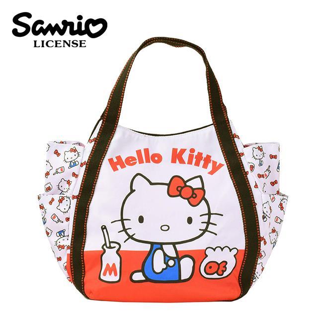 凱蒂貓 x MANUFATTO 輕便托特包 肩背包 手提袋 Hello Kitty 三麗鷗