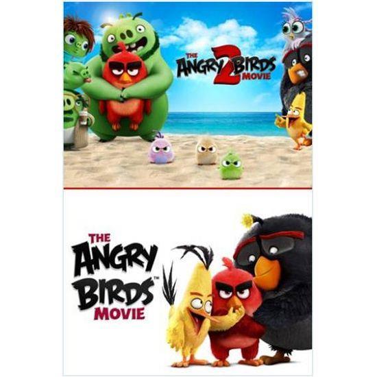 憤怒鳥玩電影1+2 套裝 BD