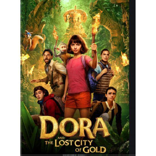 朵拉與失落的黃金城 BD