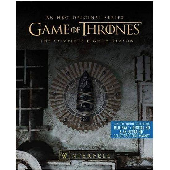 冰與火之歌:權力遊戲 第八季 UHD+BD 六碟鐵盒限定版 BD