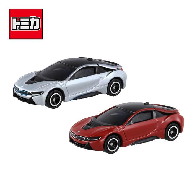 兩款一組 TOMICA NO.17 BMW i8 初回特別式樣 跑車 玩具車 多美小汽車