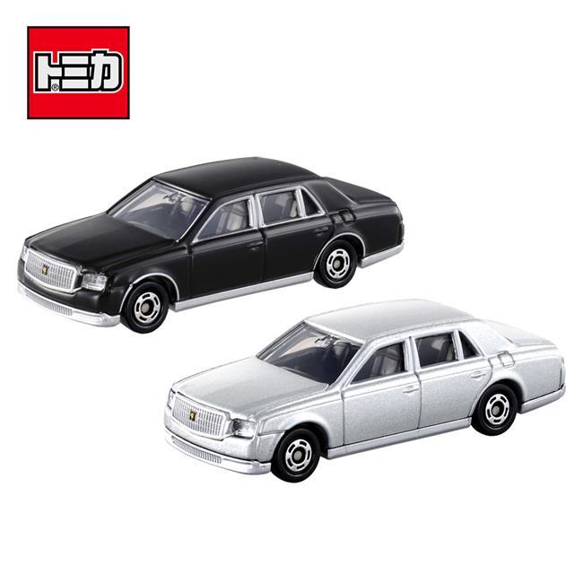 兩款一組 TOMICA NO.114 豐田 CENTURY Toyota 初回特別式樣 多美小汽車