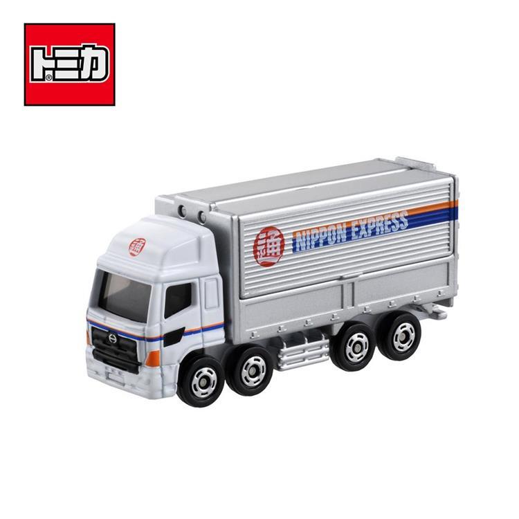 TOMICA NO.77 HINO 日本通運運輸車 日野 玩具車 多美小汽車