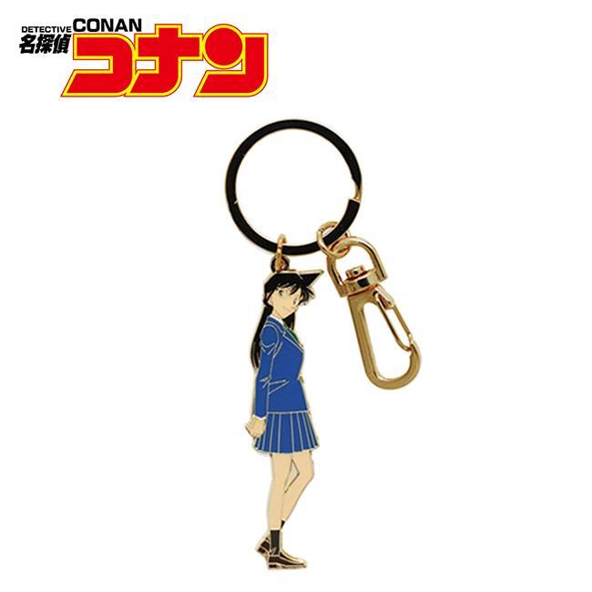 毛利蘭 金屬鑰匙圈 吊飾 名偵探柯南