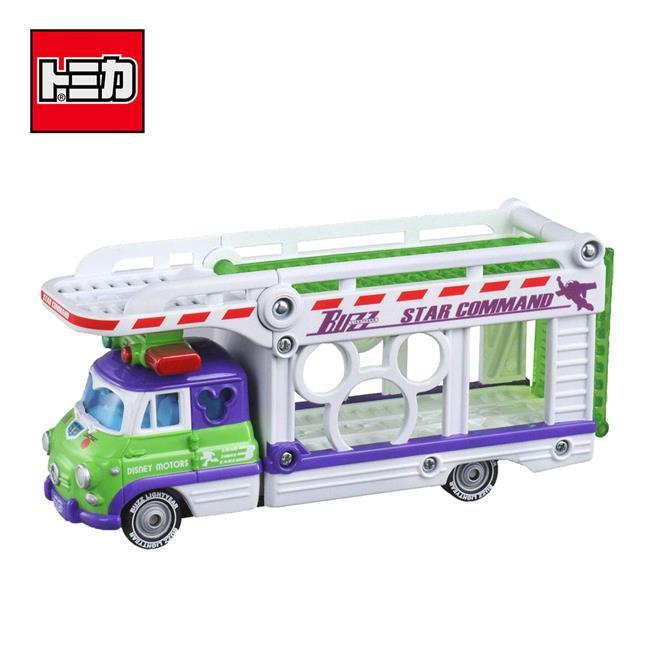 TOMICA 巴斯光年 迪士尼 小汽車運輸車 內不附小車 Disney Motors 多美小汽車