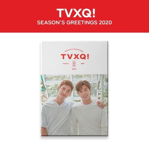 東方神起(TVXQ) 2020 SEASON'S GREETINGS 年曆組合(含特典小卡)
