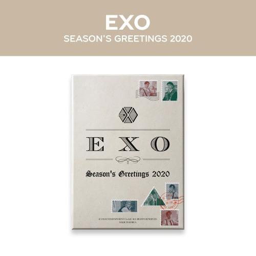 EXO 2020 SEASON'S GREETINGS 年曆組合(含特典小卡)