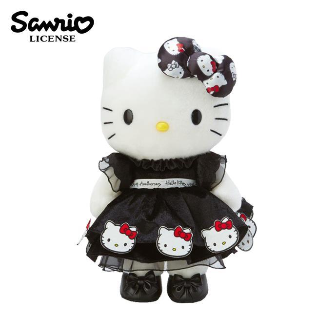 凱蒂貓 45周年 生日娃娃 43cm 絨毛玩偶 大型玩偶 娃娃 Hello Kitty 三麗鷗