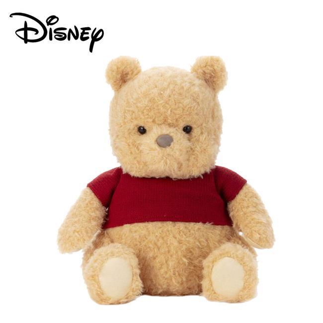 小熊維尼 電影版 絨毛玩偶 坐姿造型 27cm 娃娃 Winnie 摯友維尼 迪士尼 Disney