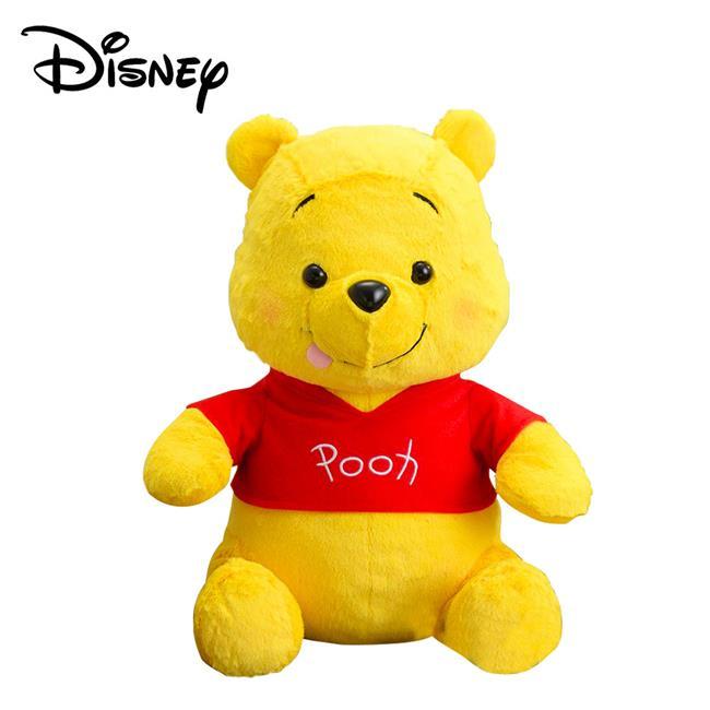 小熊維尼 吐舌造型 絨毛玩偶 36cm 娃娃 Winnie 維尼 迪士尼 Disney SEGA