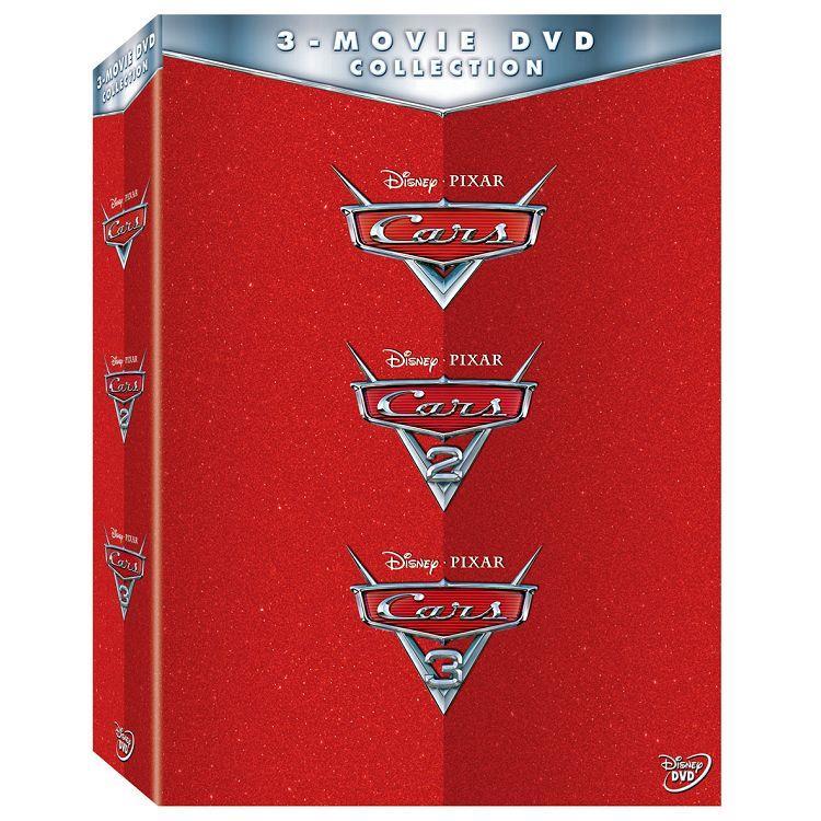 CARS 1-3 合集 DVD