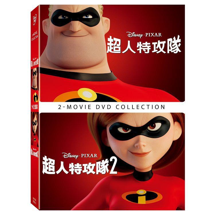 超人特攻隊 1+2 合集 DVD