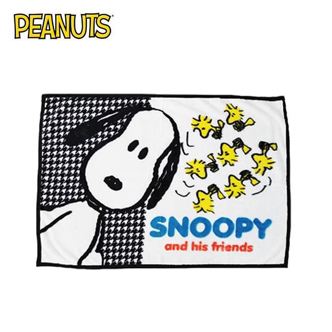 史努比 滿版毛毯 冷氣毯 毯子 Snoopy PEANUTS