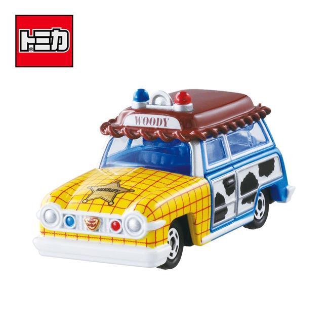 TOMICA DM-19 胡迪 旅行車 玩具總動員 玩具車 Disney Motors 多美小汽車