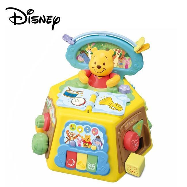 小熊維尼 音樂益智盒 學齡前玩具 幼兒玩具 聲響玩具 維尼 迪士尼 TAKARA TOMY